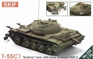 Skif MK224 T-55 'Bublina' tank with mine sweeper
