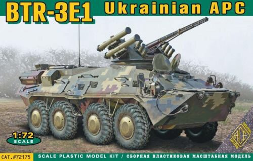 ACE 72175 BTR-3E1 Ukrainian armored personnel carr