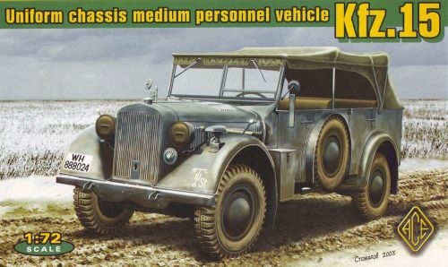 ACE 72258 Kfz.15 uniform chassis medium vehicle