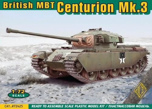ACE 72425 Centurion Mk.3 British main battle tank