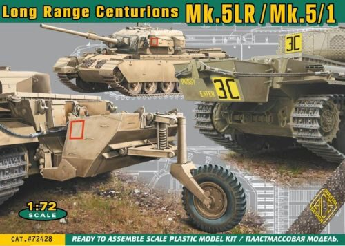 ACE 72428 Centurion Mk.5LR/Mk.5/1 w/external fuel tanks