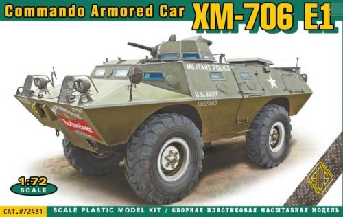 ACE ACE72431 XM-706 E1 Commando Armored Car