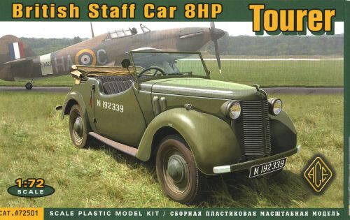 ACE 72501 British Staf car 8hp Tourer