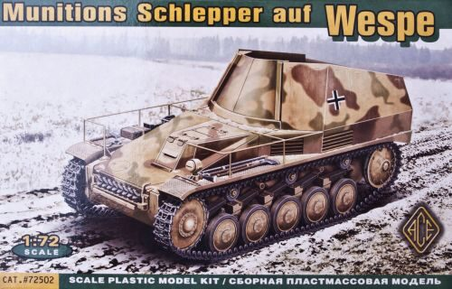 ACE 72502 Munitions Schlepper auf Wespe