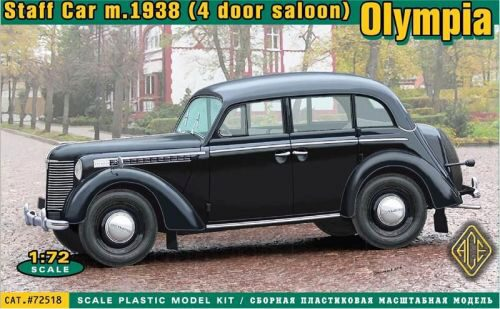 ACE 72518 Olympia (4 door saloon) staff car, 1938