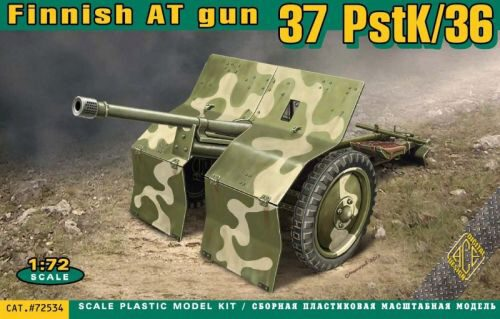 ACE 72534 PstK/36 Finnish 37mm anti-tank gun