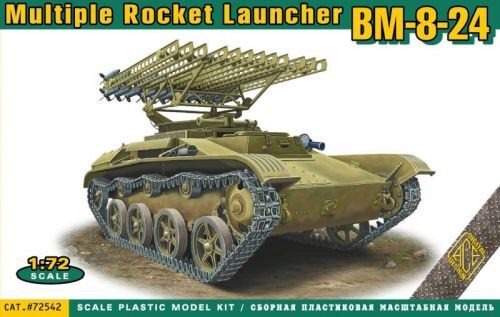 ACE ACE72542 BM-8-24 multiple rocket launcher