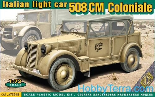 ACE 72548 508 CM Coloniale Italien light car