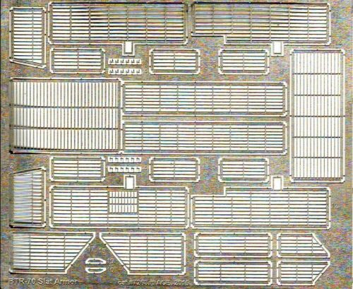 ACE PE7263 Photo-etched set slat armor for BTR-70 for ACE kits