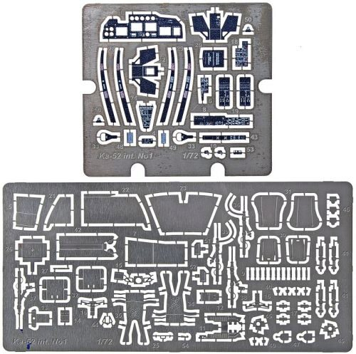 ACE PE7267 Photo-etched set for Ka-52 interior, for Zvezda kit