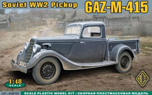 ACE 48105 WWII Soviet pick-up GAZ-M-415