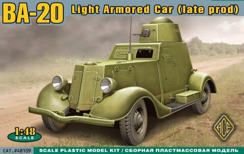 ACE 48109 BA-20 light armored car,late prod.