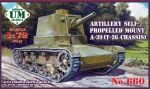 Unimodels UMT660 A-39 (T-26 chassis) Soviet self-propelle