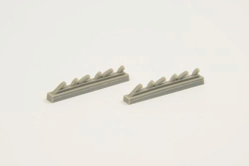 CMK 129-Q32292 YAK-3-Exhausts for Special Hobby kit