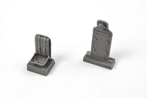 CMK 129-Q32321 P-51D Mustang-Seat w. Belts+Armour Plate
