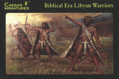 Caesar Miniatures H022 Biblical Libyan Warriors