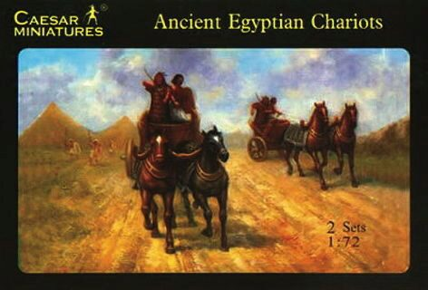 Caesar Miniatures H024 Egyptian Chariots