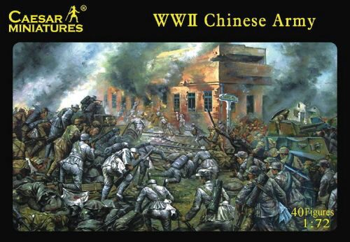 Caesar Miniatures H036 WWII Chinese Army