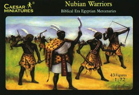 Caesar Miniatures H049 Nubian Warriors (Egypt Enemy or Alley)