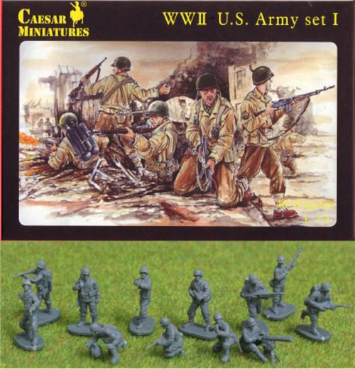 Caesar Miniatures H054 WWII US Army