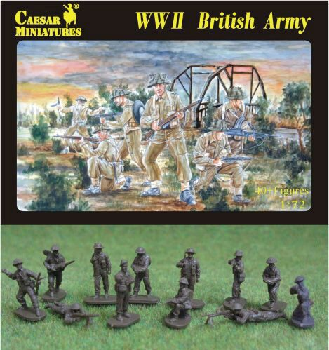 Caesar Miniatures H055 WWII British Army