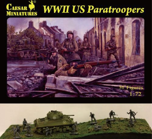 Caesar Miniatures H076 WWII US Paratroopers