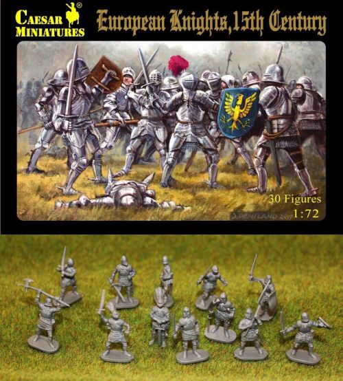 Caesar Miniatures H091 European Knights, 15th century