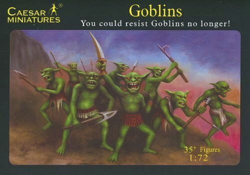 Caesar Miniatures F105 Goblins You could restist Goblins no longer!