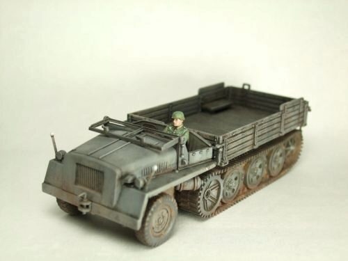 Caesar Miniatures 7210 WWII German s.WS Halftrack