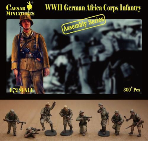 Caesar Miniatures CM7713 German Africa Corps Infantry