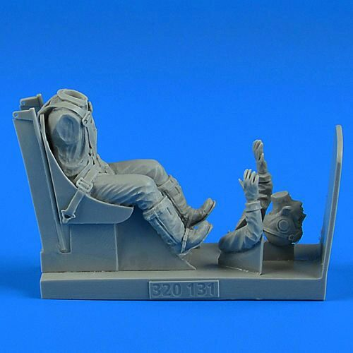 Aerobonus 320.131 US NAVY WWII Pilot with ej. seat for F4U Corsair f.Trumpeter