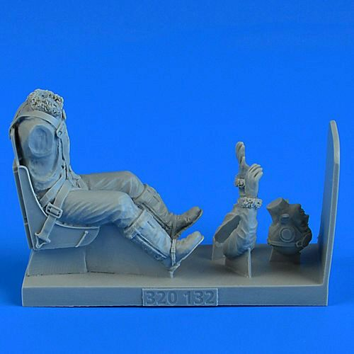 Aerobonus 320.132 USAAF WWII Pilot with ej. seat for P-51D Mustang f.TRU/TAM/HAS/REV