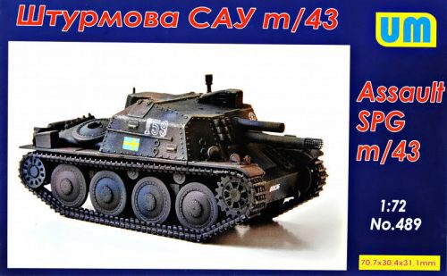 Unimodels UM489 m/43 assault self-propelled gun
