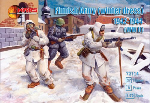 Mars Figures MS72114 Finnish Army (winter dress) 1942-1944