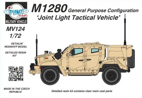 Planet Models 129-MV124 M1280 General Purpose Configuration Joint Light Tactical Vehicle