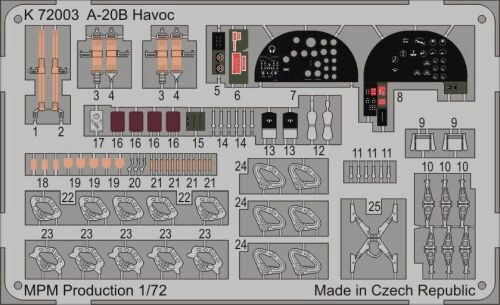 MPM K72003 A-20B Havoc for MPM 72557