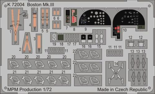MPM K72004 Boston Mk.II for MPM 72559