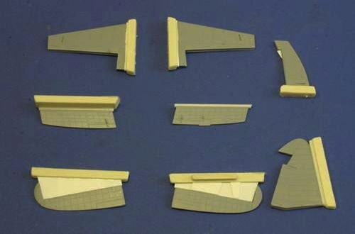 CMK 4209 Westland Wywern Control Surfaces Set for Trumpeter kit