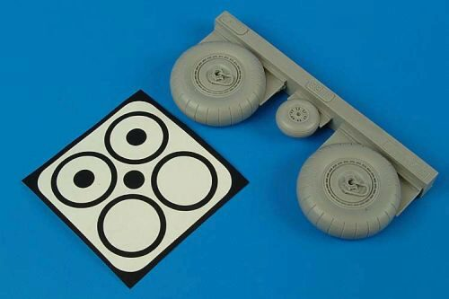 Aires 2086 Junkers Ju 88A-1 wheels & paint masks for Revell kit