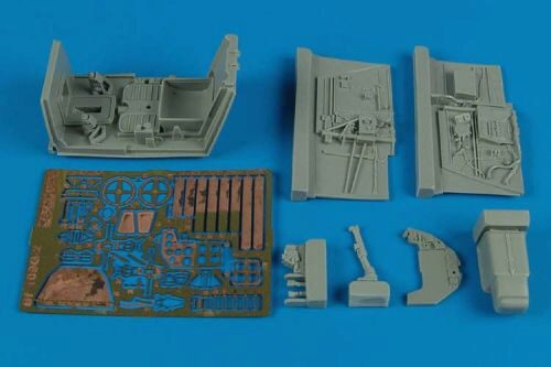 Aires 2142 Bf 109G-2 cockpit set for Trumpeter