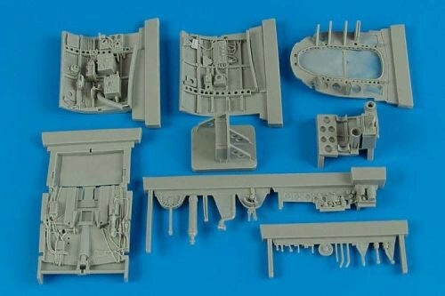 Aires 2159 A6M2b Zero cockpit set for Tamiya