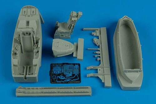 Aires 4480 F/A-22 Raptor cockpit set for Hasegawa