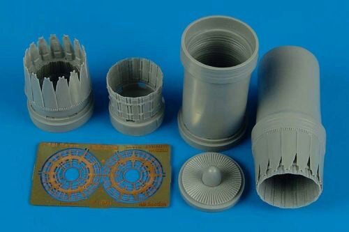 Aires 4496 F-15l Ra'am exhaust nozzles for Revell