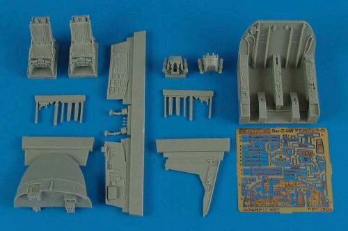 Aires 4509 Su-24M Fencer cockpit set for Trumpeter