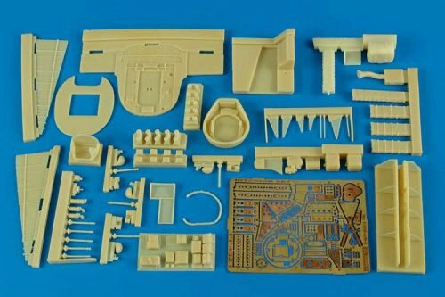 Aires 4521 He 111H-4 interior set for Revell/Mon.