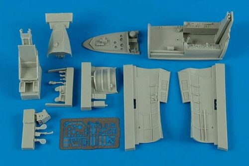 Aires 4529 F3H-2 Demon cockpit set for Hobby Boss