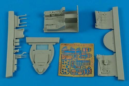 Aires 4571 F4U-4 Corsiar cockpit set for Hobby Boss