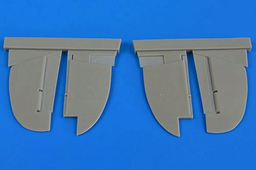 Aires 4687 Gloster Gladiator control surfaces for Eduard/Roden