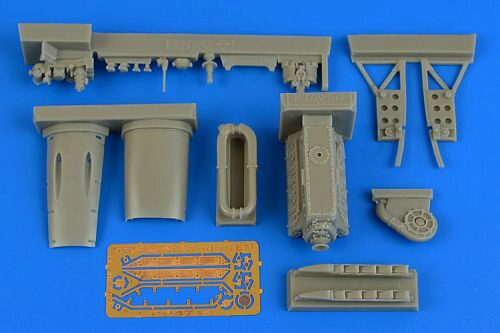 Aires 4714 Ki-61 Id engine set for Tamiya