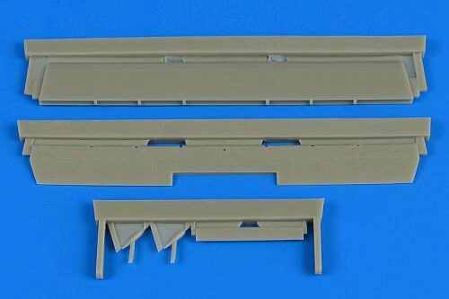 Aires 4718 P-38 Lightning control surfaces for Eduard/Academy